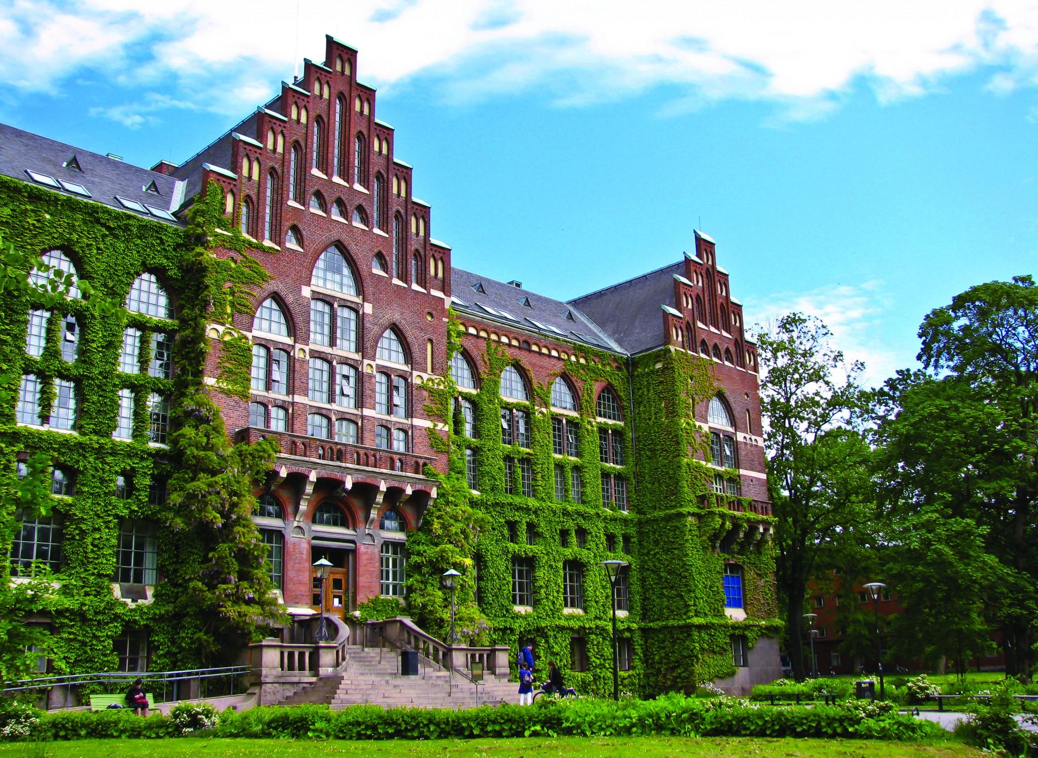 Lund University in Sweden 2