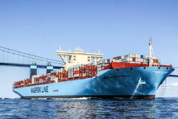 Triple-E Container vessel