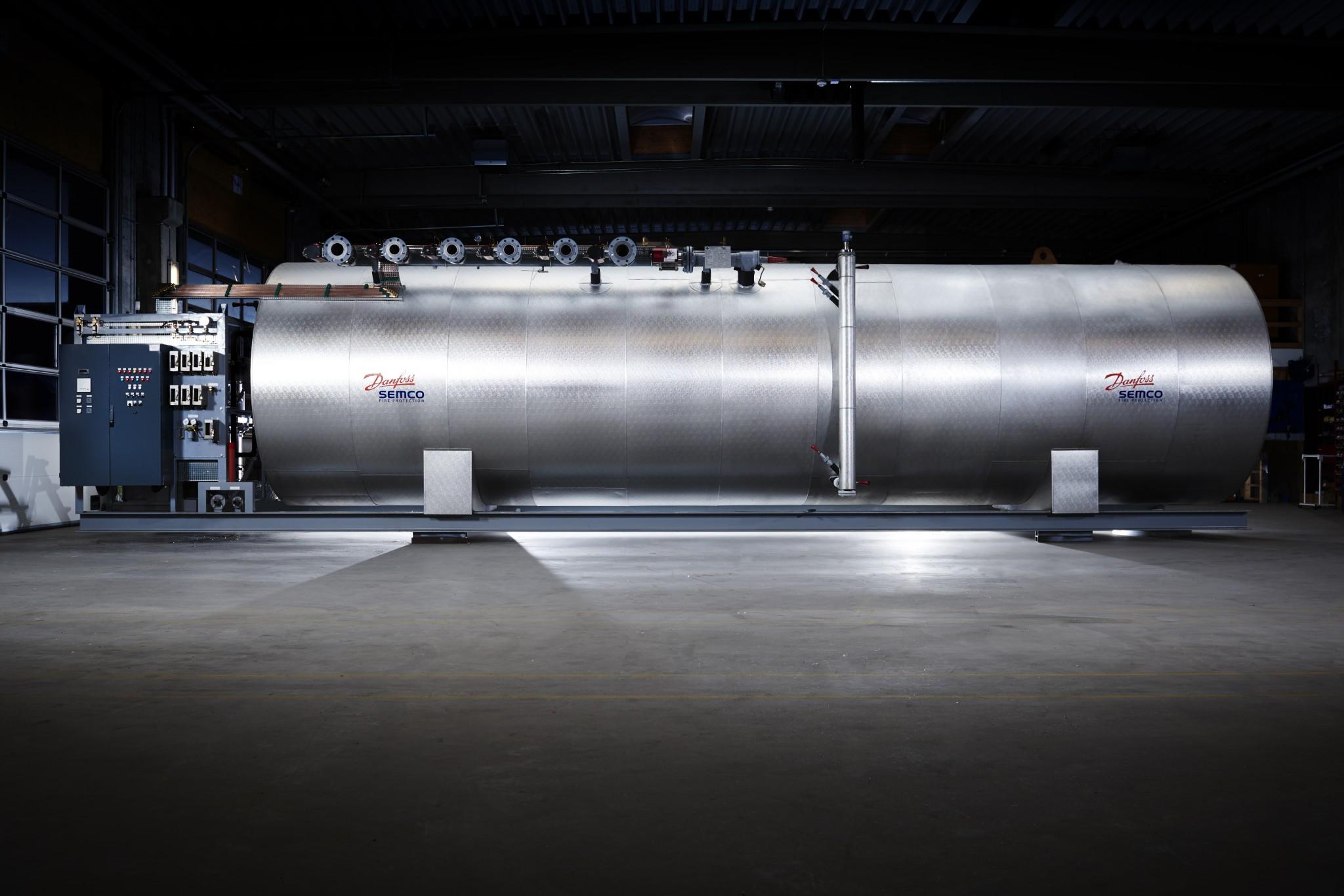 LP CO2 tank