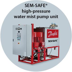 SEM-SAFE high-pressure water mist Pump Unit